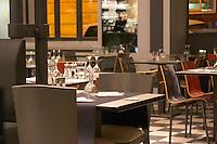 Restaurant. Bordeaux city, Aquitaine, Gironde, France