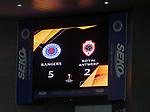 25.02.2021 Rangers v Royal Antwerp: Full time score