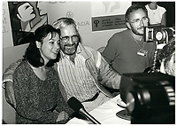 Normand Jewison, ,Marielle Hemmingway <br /> au Festival des Films du Monde 1985<br /> <br /> <br /> PHOTO : Agence Quebec Presse