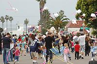 The 60th annual Ocean Beach Kite Festiva Parade winds its way down Santa Monica Avenue on Saturday, March 1, 2008.