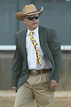 HOT SPRINGS, AR - APRIL 15: Trainer Donnie K Von Hemel before the Arkansas Derby at Oaklawn Park on April 15, 2017 in Hot Springs, Arkansas. (Photo by Justin Manning/Eclipse Sportswire/Getty Images)