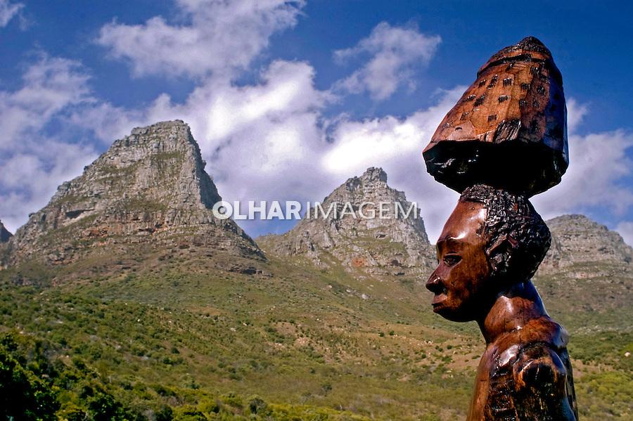 Artesanato africano. Cidade do Cabo. África do Sul. 2007. Foto de Cris Berger.