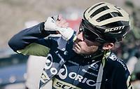 Michael Albasini (SUI/Orica-Scott) after the finish up the Col d'Izoard (HC/2360m/14.1km/7.3%)<br /> <br /> 104th Tour de France 2017<br /> Stage 18 - Briancon › Izoard (178km)