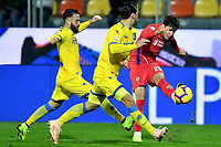 Federico Chiesa of Fiorentina in action during the Serie A 2018/2019 football match between Frosinone and ACF Fiorentina at stadio Benito Stirpe, Frosinone, November 09, 2018 <br />  Foto Andrea Staccioli / Insidefoto