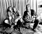 Emerson Lake & Palmer 1972 ELP Greg lake. Keith Emerson and Carl Palmer<br />© Chris Walter