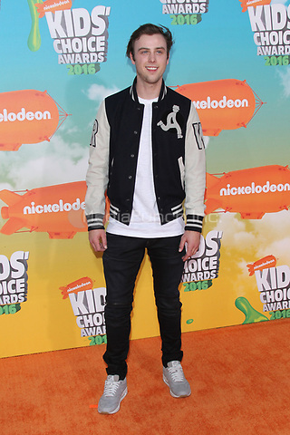 INGLEWOOD, CA - MARCH 12: Sterling Beaumon at Nickelodeon's 2016 Kids' Choice Awards at The Forum on March 12, 2016 in Inglewood, California. Credit: mpi24/MediaPunch