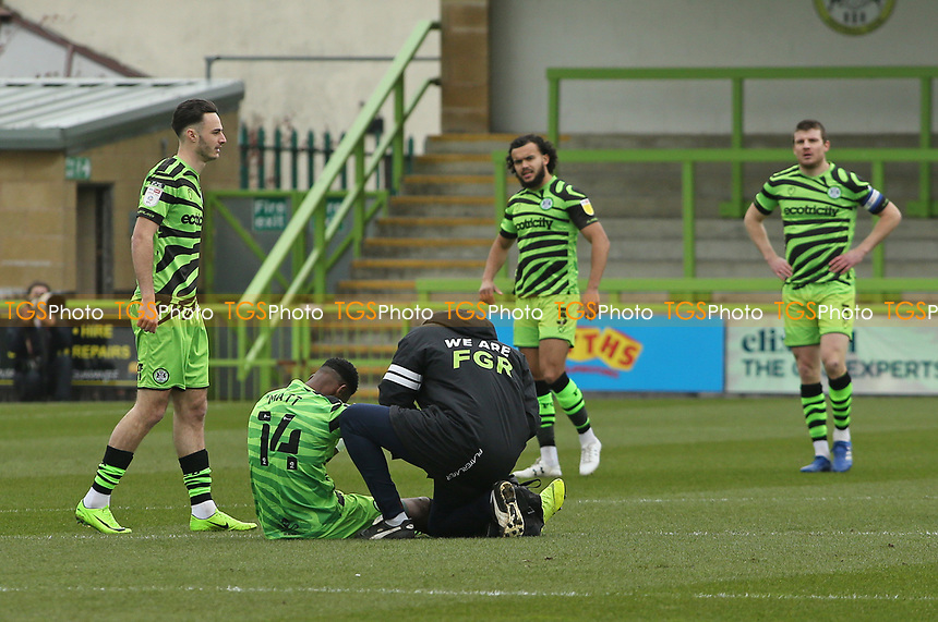 Forest Green Rovers's Jamille Matt during Forest Green Rovers vs Bolton Wanderers, Sky Bet EFL League 2 Football at The New Lawn on 27th March 2021