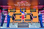 French Champion Arnaud Demare (FRA) Groupama-FDJ wins Stage 4 of the 103rd edition of the Giro d'Italia 2020 running 140km from Catania to Villafranca Tirrena, Sicily, Italy. 6th October 2020.  <br /> Picture: LaPresse/Gian Mattia D'Alberto   Cyclefile<br /> <br /> All photos usage must carry mandatory copyright credit (© Cyclefile   LaPresse/Gian Mattia D'Alberto)