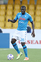 Kalidou Koulibaly of SSC Napoli<br /> during the Serie A football match between Benevento Calcio and SSC Napoli at stadio Ciro Vigorito in Benevento (Italy), October 25th, 2020. <br /> Photo Cesare Purini / Insidefoto