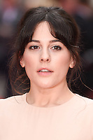 """Phoebe Fox<br /> arrives for the """"Eye in the Sky"""" premiere at the Curzon Mayfair Cinema, London<br /> <br /> <br /> ©Ash Knotek  D3105 11/04/2016"""