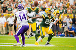 Green Bay Packers against the Minnesota Vikings during a regular season game at Lambeau Field in Green Bay on Sunday, September 15, 2019.