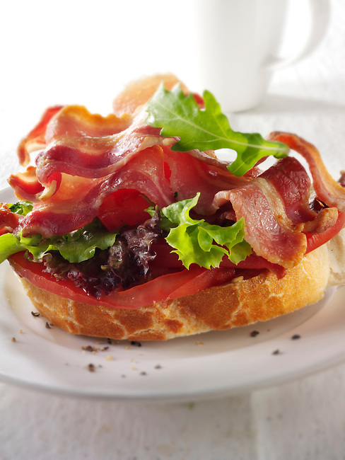 Bacon lettuce and tomato, BLT, sandwich