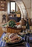 Europe/France/Pays de la Loire/Maine-et-Loire : Cul de veau à l'Angevine