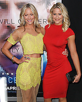 """WESTWOOD, LOS ANGELES, CA, USA - APRIL 10: Cynthia Daniel, Brittany Daniel at the Los Angeles Premiere Of Warner Bros. Pictures And Alcon Entertainment's """"Transcendence"""" held at Regency Village Theatre on April 10, 2014 in Westwood, Los Angeles, California, United States. (Photo by Xavier Collin/Celebrity Monitor)"""