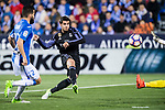 Alvaro Morata of Real Madrid in action during their La Liga match between Deportivo Leganes and Real Madrid at the Estadio Municipal Butarque on 05 April 2017 in Madrid, Spain. Photo by Diego Gonzalez Souto / Power Sport Images
