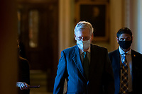 Mitch McConnell Walks to his Office