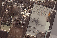 Earthquake and Tsunami damage, Japan-March 12, 2011: This is a satellite image of Japan showing damage after an Earthquake and Tsunami at the Kirin Plant, Sendai. (credit: DigitalGlobe) www.digitalglobe.com