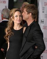 "Angelina Jolie & Brad Pitt.""Ocean's Thirteen"" Los Angeles Premiere.Gruman's Chinese Theater.Los Angeles, CA.June 5, 2007.©2007 Kathy Hutchins / Hutchins Photo...."