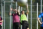15.09.2020, Sportpark Illoshöhe, Osnabrück, GER, 2. FBL, Training VfL Osnabrueck <br /> <br /> im Bild<br /> Luc Ihorst (VfL Osnabrück, 27) und Sven Köhler (VfL Osnabrück, 25) im Zweikampf, Duell.<br /> <br /> Foto © nordphoto / Paetzel