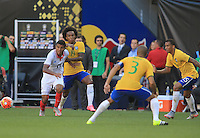 Harrison, New Jersey - Saturday, September 5, 2015:  Brazil defeated Costa Rica 1-0 during their international friendly at Red Bull Arena.