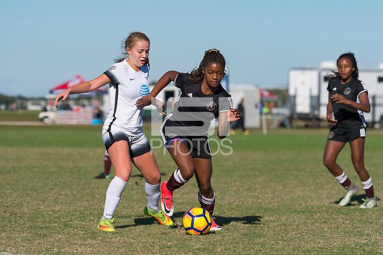 Lakewood Ranch, FL - Sunday Dec. 10, 2017: 2017 Development Academy Winter Showcase & Nike International Friendlies at Premier Sports Campus at Lakewood Ranch, FL.
