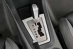 Gear shift detail view of a 2008 Dodge Avenger RT