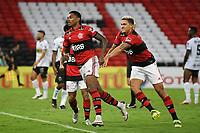 Rio de Janeiro (RJ), 24/04/2021 - Flamengo-Volta Redonda - Vitinho jogador do Flamengo comemora seu gol,durante partida contra o Volta Redonda,válida pela 11ª rodada da Taça Guanabara,realizada no Estádio Jornalista Mário Filho (Maracanã), na zona norte do Rio de Janeiro, neste sábado (24).
