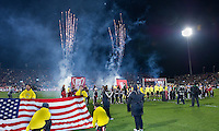 21 November 2010: The opening ceremonies during the 2010 MLS Cup Final between the Colorado Rapids and FC Dallas at BMO Field in Toronto, Ontario Canada...