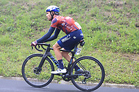 22nd May 2021, Monte Zoncolan, Italy; Giro d'Italia, Tour of Italy, route stage 14, Cittadella to Monte Zoncolan; 142 BEVIN Patrick NZL