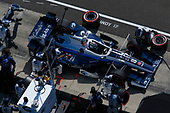 Verizon IndyCar Series<br /> IndyCar Grand Prix<br /> Indianapolis Motor Speedway, Indianapolis, IN USA<br /> Saturday 13 May 2017<br /> Max Chilton, Chip Ganassi Racing Teams Honda makes a pit stop<br /> World Copyright: Phillip Abbott<br /> LAT Images<br /> ref: Digital Image abbott_indyGP_0517_4749