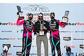#86 Meyer Shank Racing w/Curb-Agajanian Acura NSX GT3, GTD: Mario Farnbacher, Matt McMurry celebrate in Victory Lane