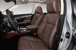 Front seat view of 2016 Lexus GS 350 4 Door Sedan Front Seat  car photos