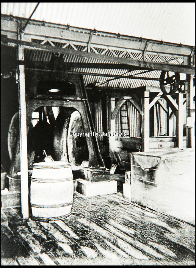 BNPS.co.uk (01202 558833)<br /> Pic: JanJarvis/BNPS<br /> <br /> The grinding house of the gunpowder factory.<br /> <br /> A lot of bang for your buck...<br /> <br /> A former royal hunting lodge that went on to become a world-renowned gunpowder factory has exploded onto the property market.<br /> <br /> Eyeworth Lodge, in the picturesque surroundings of Fritham in the New Forest, was the perfect isolated place for the risky business that saw lots of men injured or even killed, but it is now a stunning country home for anyone who wants to escape to the country.<br /> <br /> The seven-bedroom home, which has eight acres of land, is on the market with Strutt & Parker for £4million.