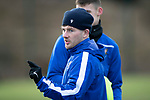 St Johnstone Training…….24.01.20<br />Matty Kennedy pictured training this morning at McDiarmid Park ahead of tomorrow's game against Kilmarnock.<br />Picture by Graeme Hart.<br />Copyright Perthshire Picture Agency<br />Tel: 01738 623350  Mobile: 07990 594431