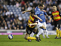 19/03/2008    Copyright Pic: James Stewart.File Name : sct_jspa18_rangers v partick.GRANT HARKINS STOPS CHARLIE ADAM.James Stewart Photo Agency 19 Carronlea Drive, Falkirk. FK2 8DN      Vat Reg No. 607 6932 25.Studio      : +44 (0)1324 611191 .Mobile      : +44 (0)7721 416997.E-mail  :  jim@jspa.co.uk.If you require further information then contact Jim Stewart on any of the numbers above........