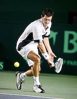 8-4-07, England, Birmingham, Tennis, Daviscup England-Netherlands,   Tim Henman