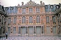 Palace of Versailles, 1669-1685, Seine-et-Olse, France. Designed by Louis Le Vau and Jules Hardouin-Mansart.