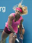 Serena Williams (USA) defeats Kaia Kanepi (EST) 6-3, 6-3