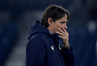 Simone Inzaghi, coach of Lazio, during the Champions League round of 16 football match between SS Lazio and Bayern Munchen at stadio Olimpico in Rome (Italy), February, 23th, 2021. Photo Andrea Staccioli / Insidefoto