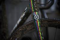 post-race world champion bike<br /> <br /> Duinencross Koksijde WorldCup 2015