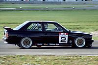 Final round of the 1991 British Touring Car Championship. #2 David Leslie (GBR). Pyramid Motorsport. BMW M3.