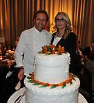 FILIPPO LA MANTIA E ROMANA LIUZZO<br /> PREMIO GUIDO CARLI - TERZA  EDIZIONE<br /> PALAZZO DI MONTECITORIO - SALA DELLA LUPA<br /> CON RICEVIMENTO  HOTEL MAJESTIC   ROMA 2012