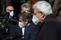 Sergio Mattarella, President of the Italian Republic. <br />