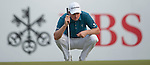 Justin Rose of England ponders his next shot during Hong Kong Open golf tournament at the Fanling golf course on 24 October 2015 in Hong Kong, China. Photo by Xaume Olleros / Power Sport Images