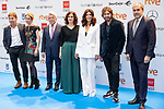 Antonio de la Torre, Angie Cepeda, Enrique Cerezo, Isabel Diaz Ayuso, Silvia Abascal and Daniel Sanchez Arevalo attend public reading finalists of the 25 Jose Forque Film Awards<br /> Madrid, Spain. <br /> November 21, 2019. <br /> (ALTERPHOTOS/David Jar)