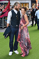 """Marius Jensen and Kara Tointon<br /> The premiere of """"The Festival"""" at Cineworld Leicester Square<br /> <br /> ©Ash Knotek  D3419  13/08/2018"""