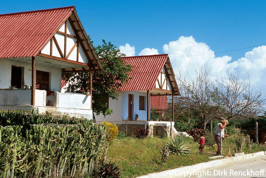 Cuba, Peblo Hollandes bei Turiguano, Provinz Ciego de Avila