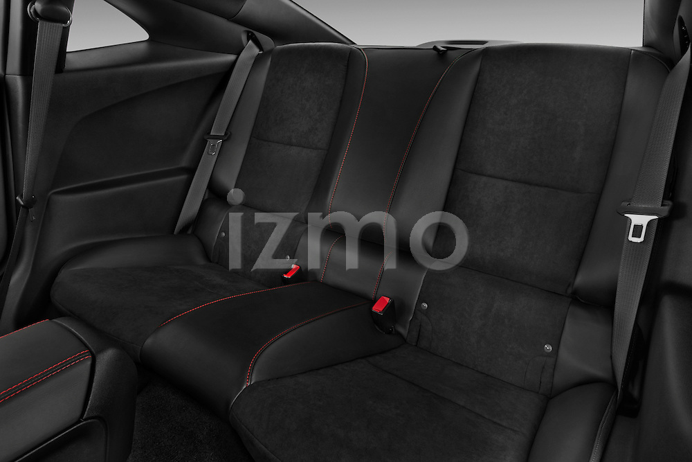 Photo of rear seats in a 2013 Chevrolet Camaro ZL1 coupe