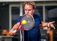 Etten-Leur, The Netherlands, August 26, 2017,  TC Etten, NVK, Michiel Kroes (NED)<br /> Photo: Tennisimages/Henk Koster