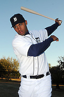 Feb 21, 2009; Lakeland, FL, USA; The Detroit Tigers outfielder Wilkin Ramirez (60) during photoday at Tigertown. Mandatory Credit: Tomasso De Rosa/ Four Seam Images